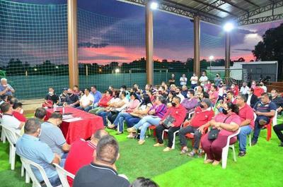 Dirigentes de base ratifican su apoyo a Juan Ángel Núñez