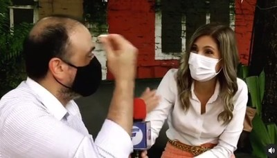 "Sanie López ""salvó"" a Piquito del dengue"