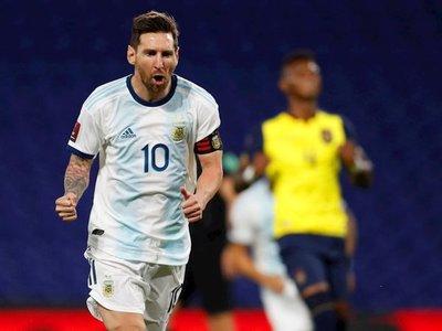 Messi, el mejor deportista argentino de la década