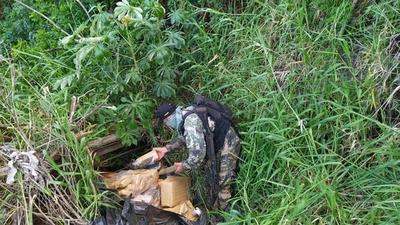 Hallan carga de marihuana en la reserva de Itaipu
