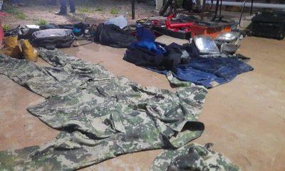 Allanamiento en Luque: No descartan que algún militar provea uniformes a delincuentes