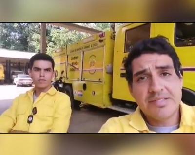 Bernardo Araujo, el joven bombero de 19 años que perdió su trabajo por llegar tarde tras incendio en Petropar