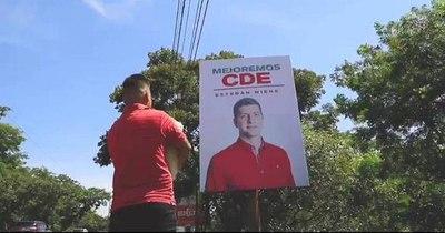La Nación / Hijo del ministro de Obras viola las leyes electorales en CDE