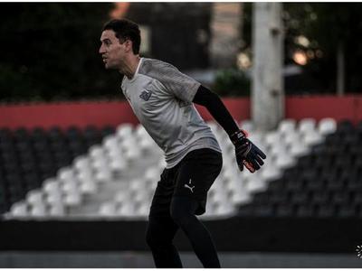 Martín Silva  retorna al arco  gumarelo