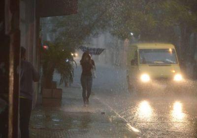 Nueva alerta de tormentas en Región Oriental y parte del Chaco