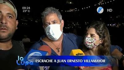 Escrachador que golpeó a Villamayor habla sobre lo ocurrido en restaurante