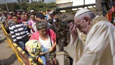 Papa Francisco agradece a Colombia por acoger a venezolanos