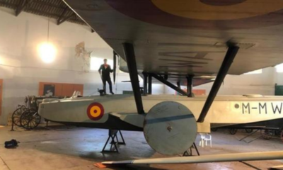 Primer avión que acabó el viaje de Europa a Sudamérica brilla 95 años después