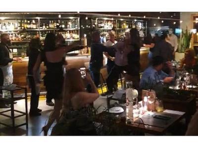 Villamayor analiza demandatras agresión en restaurante