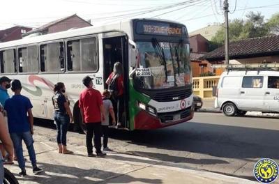 Fiscalizan situación laboral de choferes del transporte público •