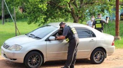 Caminera demoró a más de 700 conductores tras cometer diversas infracciones en ruta