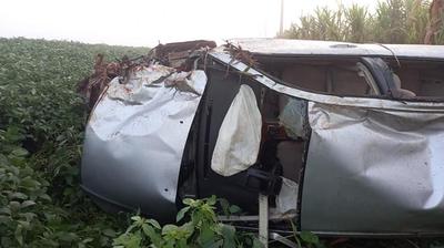 Tres muertos en accidente de tránsito en Salto del Guairá