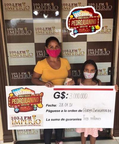 Mañana martes 16 vuelve el Bingo Radial Pedrojuanino
