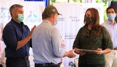 El Ministerio de Agricultura cede propiedad al Indert en favor del asentamiento Primavera