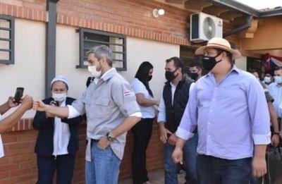 Marito elogia su administración y critica a modelo bolivariano de producción