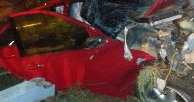 La Nación / Cinco personas mueren en dos accidentes ruteros