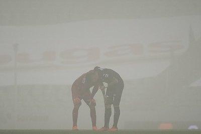 La impresionante tormenta de arena que azotó el estadio del Santos