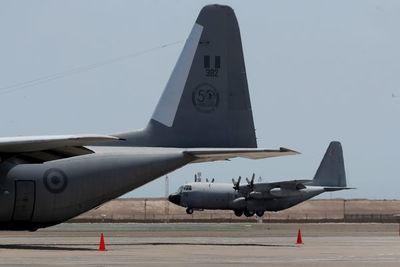 Perú incorpora los dos aviones Hércules comprados a España