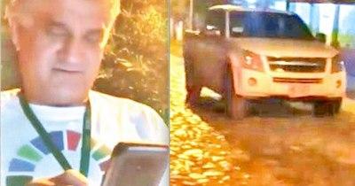 La Nación / MAG dice que chofer iba a lavar el móvil de noche cuando fue pillado
