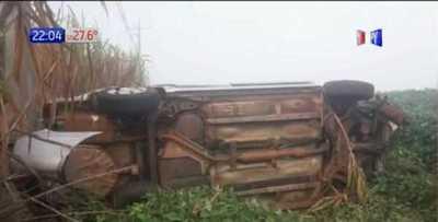 Accidente de tránsito se cobra la vida de tres personas en Salto del Guairá