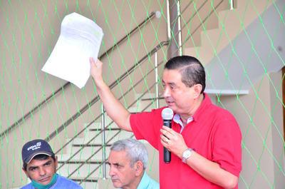 "Juan Angel Núñez un ""CAMANDULERO"" que busca la intendencia"