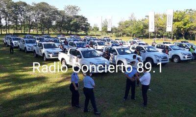 Destinan patrulleras a diferentes localidades de Alto Paraná
