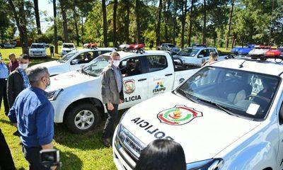 Gobierno entregó nuevas USF y patrulleras 4×4 en Alto Paraná, financiadas por Itaipú – Diario TNPRESS