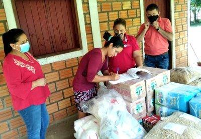 MDS distribuyó casi 39.500 kilos de alimentos para ollas populares de varios departamentos del país