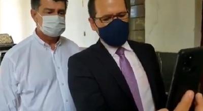 Fiscal deja a criterio de jueza la prisión de Efraín Alegre