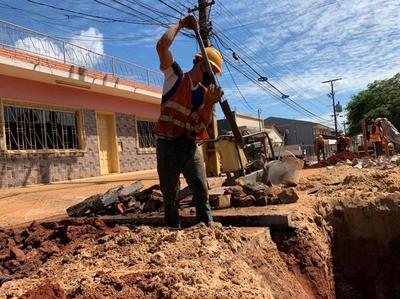 Fernando de la Mora: camino a ser la segunda ciudad con mayor cobertura de alcantarillado sanitario