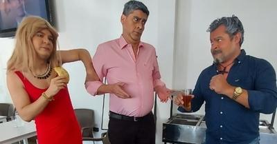"""Muestran lo que realmente pasó el día que Villamayor se """"comió"""" un """"bife"""""""