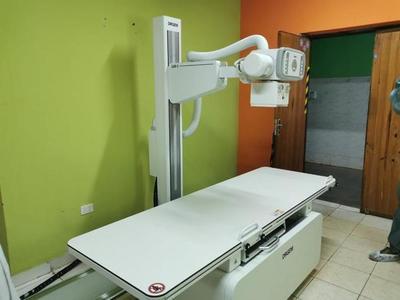 Hospital distrital de Coronel Bogado recibe nuevo equipo radiológico