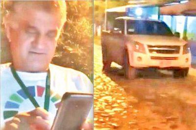 Instruyen sumario a funcionario del MAG sorprendido con camioneta de la institución