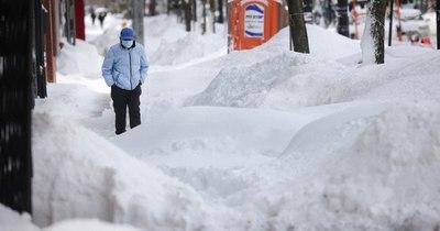 La Nación / EEUU: ola de frío récord deja diez muertos y millones sin electricidad