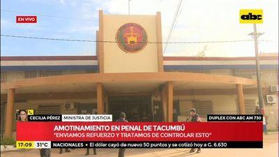 Amotinamiento en el penal de Tacumbú