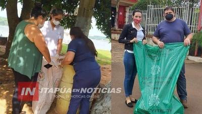 EXITOSA MINGATÓN EN PRÁCTICAMENTE TODOS LOS DISTRITOS DE ITAPÚA