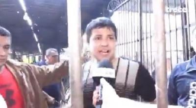 Controlan fuego en Tacumbú y reclusos piden presencia de ministra