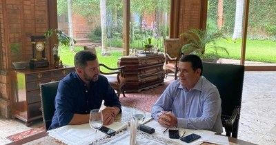 La Nación / Cartes y Alliana realizaron una evaluación con miras a las elecciones municipales
