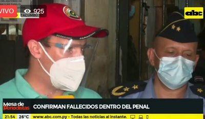 Fiscal confirma seis fallecidos en Tacumbú