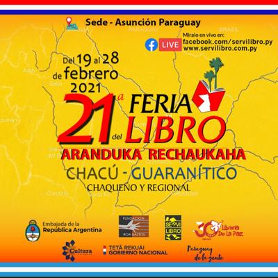 Paraguay participará de 21º Feria del Libro Chaqueño y Regional