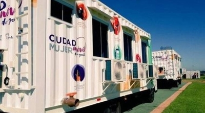 HOY / Caazapá: Móvil de Ciudad Mujer llega a Tavaí