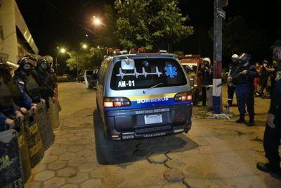 La Policía difunde nueva lista oficial de fallecidos en Tacumbú
