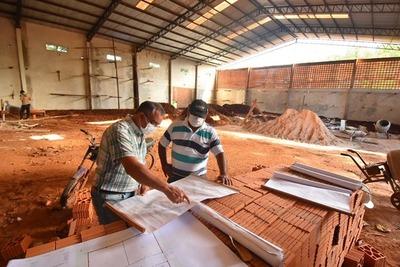 Caazapá: En ejecución obras en San Juan Nepomuceno y Tavaí