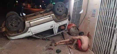 Conductor alcoholizado protagoniza grave accidente en Mbocayaty