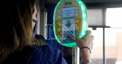 La Nación / Área Metropolitana: buses solo pueden operar si tienen validadores del pasaje electrónico