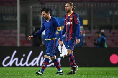 Messi y el Barça, un nuevo desastre europeo que hace resurgir las dudas