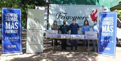 Athena donó 27.000 kg de carne para familias afectadas por la pandemia