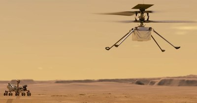 La Nación / La NASA quiere hacer volar un helicóptero en Marte por primera vez