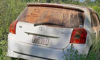 Automóvil robado en Campo 9 fue encontrado en Caazapá – Prensa 5