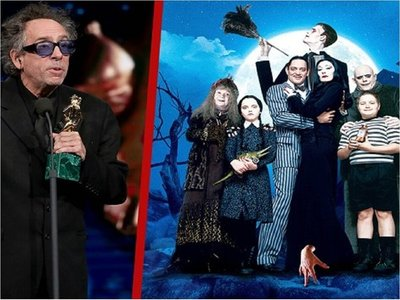 Netflix se queda con la serie sobre La Familia Addams de Tim Burton